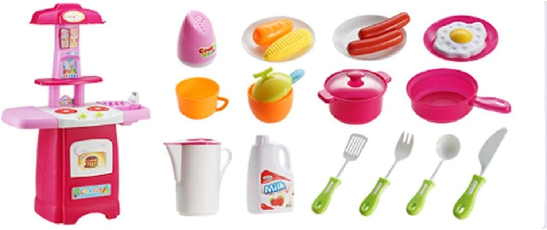 compra en línea hoy Juguetes Xiaomei Mini Juego Cocina Cocina Cocina para Niños Juego de Rompecabezas de Cocina de simulación para Niños (Color   A)  ahorra 50% -75% de descuento