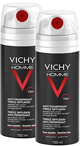 Desodorante Vichy Homme en spray 72h 300 ml