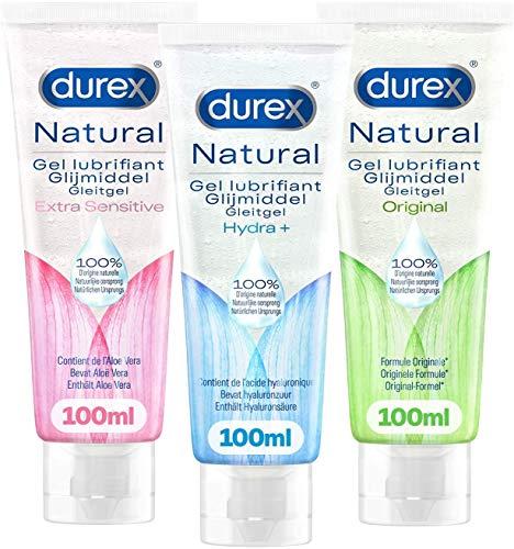 Durex Gels Lubrifiants - Naturel à...