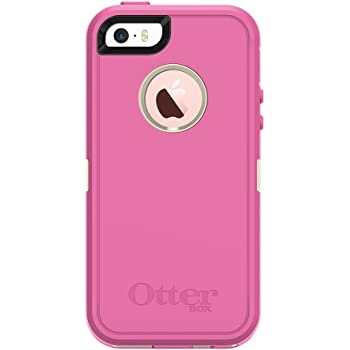 OtterBox DEFENDER SERIES for iPhone SE (1st gen - 2016) and iPhone 5/5s - Retail Packaging - BERRIES N CREAM (SAND/HIBISCUS PINK)