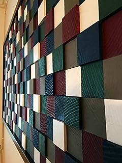 AD Planet Decorative Beautiful Wall Art Set Wood Art - Reclaimed Wood Art,''Ships Worldwide'' Black