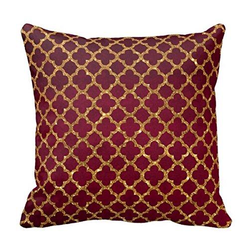 18x 18cm cuadrado algodón poliéster manta funda de almohada Decor fundas de cojín