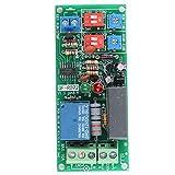 Relè Interruttore Modulo Infinito Ciclo Ritardo Temporizzatore Timing On Off 0,5s ~ 1,000min Regolabile AC 100V ~ 250V