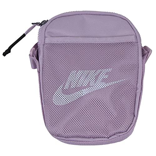 Nike Heritage - Bolso bandolera para mujer, color morado, color Morado, talla Einheitsgröße