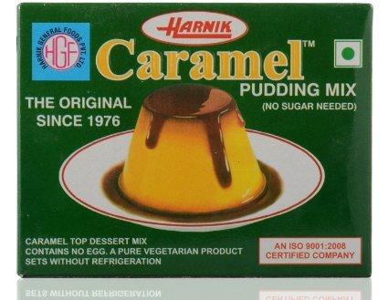 Harnik Caramel Pudding (Mix) - 90 Gm (Pack of 5)