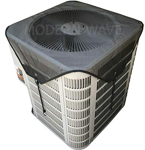 """MODERN WAVE Central Air Conditioner Cover for Outside Units 36 x 36 - Top Universal Outdoor AC Cover Defender (Mesh, 36"""" x 36"""")"""