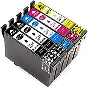 ESMOnline kompatible Druckerpatronen als Ersatz für Epson T0711 T0712 T0713 T0714 (5er Set)