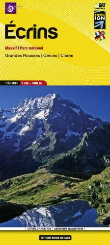 Libris Wanderkarte 05. Ecrins - Massif, parc national et Grandes Rousses - Cerces - Clarée 1 : 60 000 (Carte Grand Air)