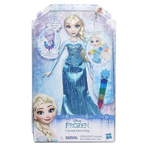 Hasbro - Disney Frozen Die Eiskönigin - Elsas Funkelnder Kristallzauber