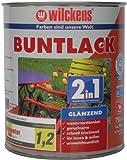 Wilckens 2in1 Buntlack glänzend, RAL 9010 reinweiß, 750 ml 10491000050