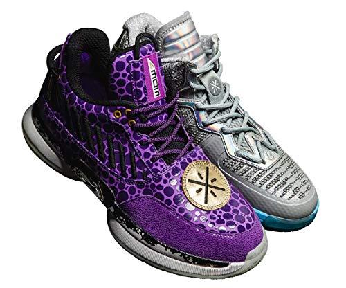 LI-NING Wow 7 Remix Pack DWade Herren Professionelle Basketballschuhe Way of Wade Klassische Sneakers ABAN079-15, (Remix Pack Wow 7 + Wow 1), 45 EU