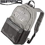 Spro Freestyle Backpack Classic Grey 27x42x13cm - Angelrucksack für Raubfischangler, Rucksack zum...