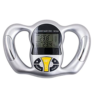 zinnor Digital Body Fat Analyzer for Personal Health Portable Multi-Function Health Monitor Handheld Lose Weight Control Device from zinnor