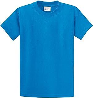 Joe's USA Mens Big & Tall Heavyweight 100% Cotton Short Sleeve T-Shirt. LT-4XLT