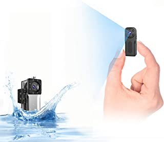wasserdichte WLAN Mini Kamera,NIYPS Full HD 1080P Akku Überwachungskamera, Mikro WiFi..