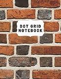 Brick Background Design Bullet Journal Notebook 8.5 x 11 Bullet Journal: Dot Grid Journal Notebook Bullet Journal Kit