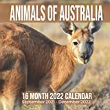Animals of Australia 16 Month 2022 Calendar September 2021-December 2022: Australian Animal Square Photo Date Book Monthly Pages 8.5 x 8.5 Inch