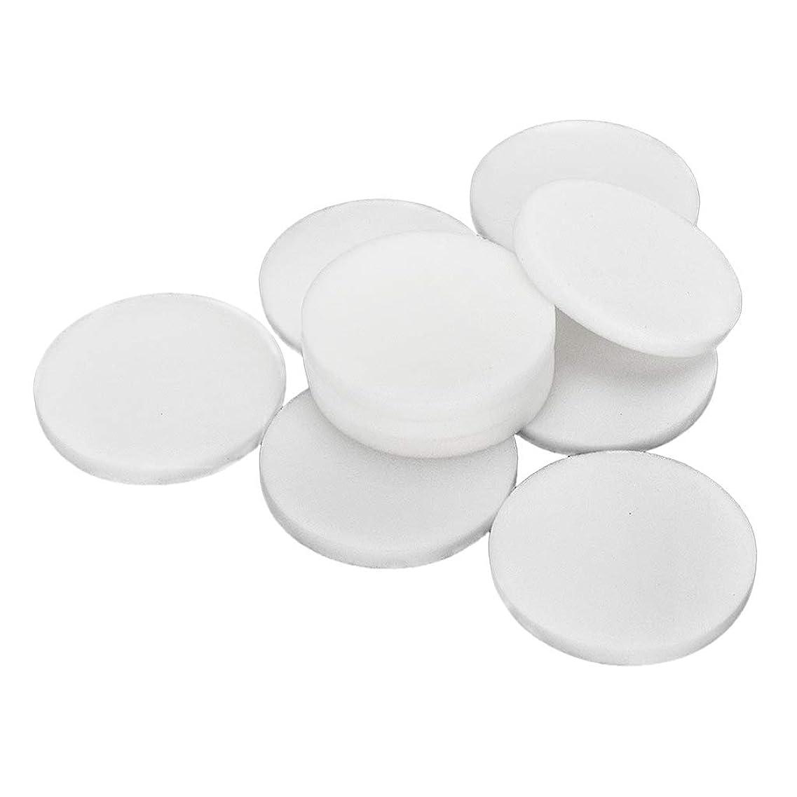 印象的な不毛のゲインセイF Fityle 10枚 使い捨て フェイスクリーニングパフ 洗顔 化粧 メイクアップパフ 2サイズ選べ - 大