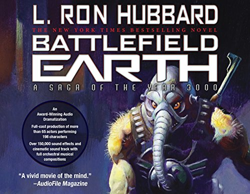 Battlefield Earth: Post-Apocalyptic Sci-Fi and New York Times Bestseller — Durable Library Quality Case