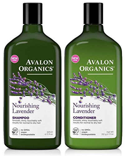Avalon Organics Lavender Nourishing Shampoo & Conditioner Duo, 11 oz