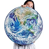 Round Jigsaw Puzzle 1000 PCS, Vivid Earth Puzzles for Adults 1000 Pieces, Large Size Planet, Fun and Challenge, Gift for Boys Girls Men Women Adults
