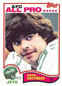1982 Topps Football #167 Mark Gastineau New York Jets
