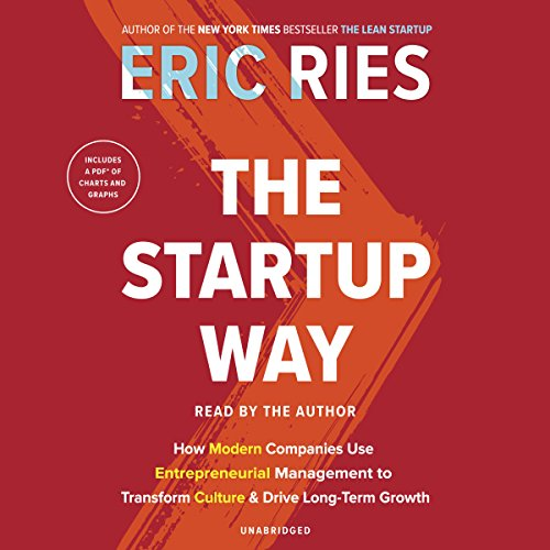 The Startup Way audiobook cover art