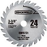Rockwell RW9231 VersaCut 3-3/8-inch 24T Carbide-tipped Circular Saw Blade