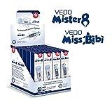 Pic Solution 02023036000000 - Baby Mix Mister 8 y Miss Bibì Termómetro Digital 24-Piezas, unisex