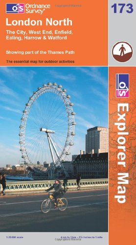 OS Explorer map 173 : London North