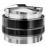 HENDR 53MM Coffee Distributor & Tamper Dual Head Stainless Steel Coffee Tamper Professional Espresso Distributor Leveler Tool