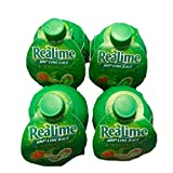 ReaLime Lime Juice | Lime Juice From Concentrate | 2.5 oz Each Bottle | Pack of 4