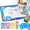 VARWANEO Aqua Magic Doodle Mats Both Sides Water Drawing Doodling Mat