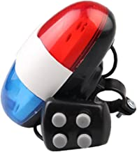 Fiets Elektronische Hoorn Staartlamp Elektronische Fiets Licht Met 4 Tonen Luid Politie Siren Fiets Trompet Fietsen Hoorn ...