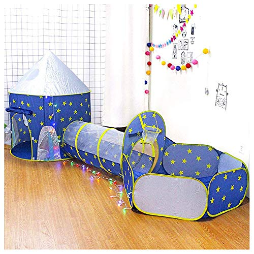 3-In-1 Speeltent Voor Kinderen, Pop-Up Speelhuistent En Tunnel Avontuur Opvouwbare Tent Met Rits Opbergtas Babyspeelgoed Cadeaus Voor Kinderen Binnen- En Buitengebruik