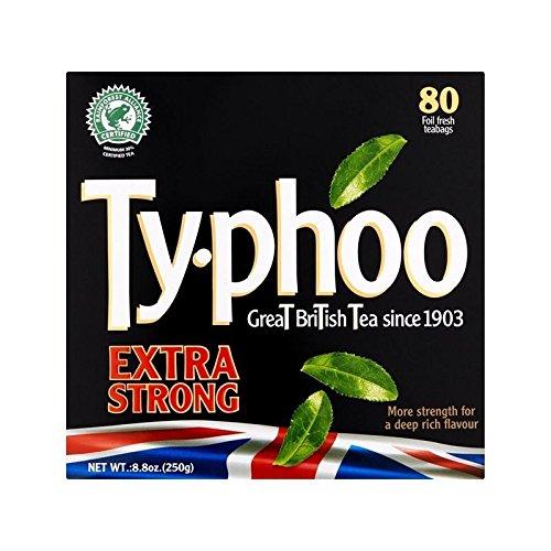 Typhoo Extra Starken Tee 80 Pro Packung