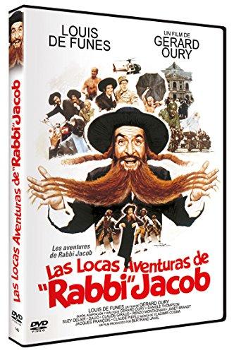 Las Locas Aventuras DVD Les Aventures de Rabbi Jacob [Import]