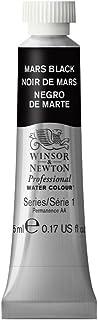 Winsor & Newton Professional Water Colour Paint, 5ml tube, Mars Black