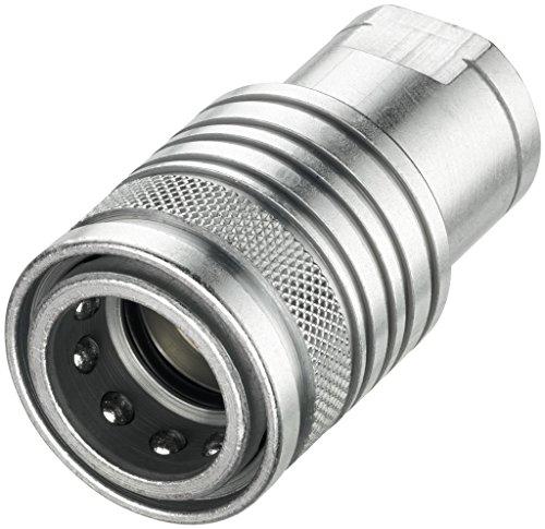 Push-Pull-Kupplung, Muffe, Baugröße 3, IG 3/8 Zoll