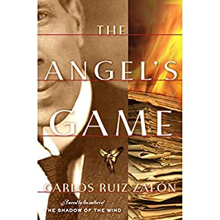 The Angel's Game audiobook cover art