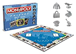 the world's favourite family board game brings you the friends edition of monopoly. choose your favourite exclusive character token, tour your favourite moments and accumulate fortunes, but watch out for taxes, jail and bankruptcy. advance to ross' t...