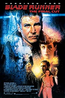 BLADE RUNNER MOVIE POSTER harrison FORD sean YOUNG SCI-FI film noir 24X36 (reproduction, not an original)