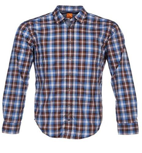 BOSS Orange Chemise Radcliffe Couleur Bleu 208 - Bleu - M