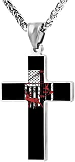 Best hunting cross necklace Reviews