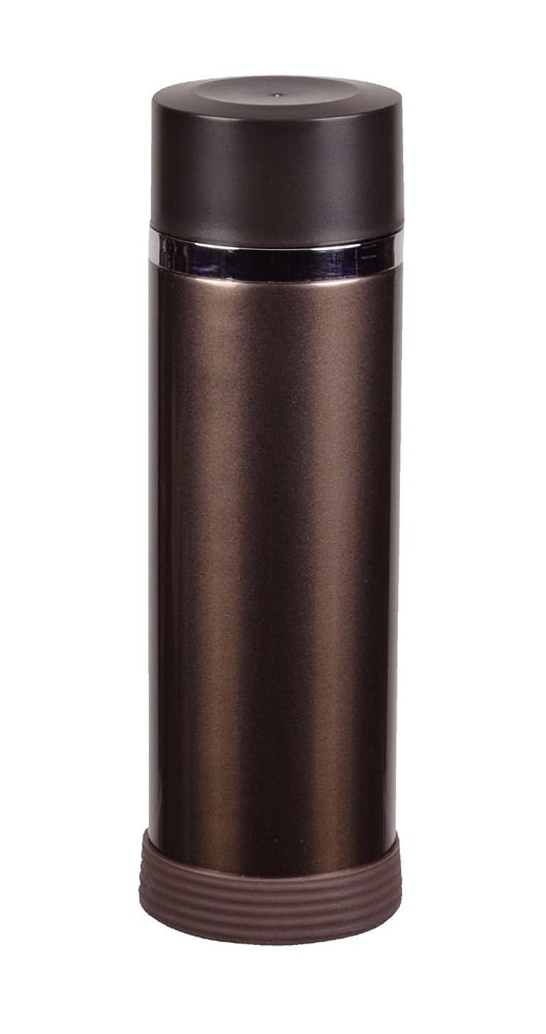 バーガー隔離地下室パール金属 水筒 300ml 直飲み ステンレス アイス ストッパー マグ ブロンズ 内面 フッ素加工 カフェマグリッチ HB-638