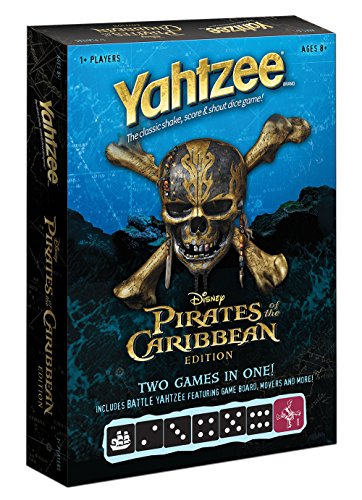 USAOPOLY Pirates of The Caribbean Yahtzee Game
