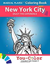 New York City Enjoy the Experience: Magical Places Coloring Book