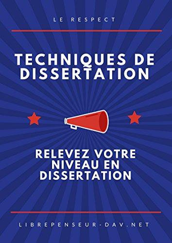 Technique de la dissertation methodology literature review dissertation