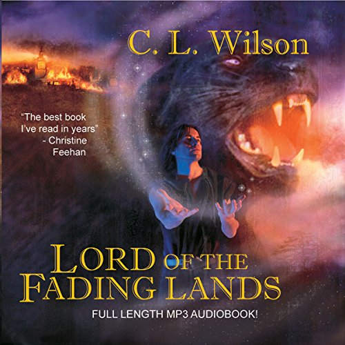 Lord of the Fading Lands audiobook cover art
