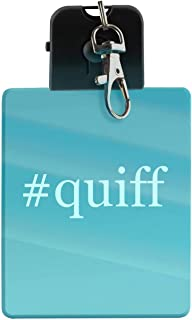 #quiff - Hashtag LED Key Chain with Easy Clasp